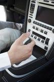 Car driver royalty free stock photo