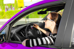 Car driver Royalty Free Stock Photography
