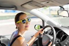 Car driver Stock Image