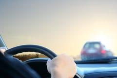 Car driving Stock Image