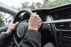 Car driving Stock Photo