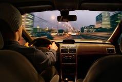 car driving fast Στοκ φωτογραφίες με δικαίωμα ελεύθερης χρήσης