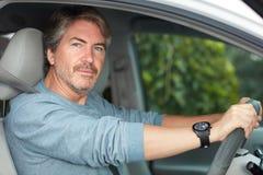 car driving man Στοκ Εικόνα