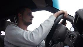 car driving man young φιλμ μικρού μήκους