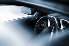 Car Driving Theme Stock Images