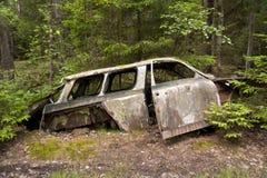 Car Dump in Kirkoe Mosse Royalty Free Stock Image
