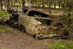 Car Dump in Kirkoe Mosse Royalty Free Stock Photography