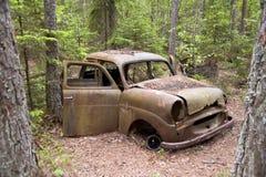 Car Dump in Kirkoe Mosse Stock Image