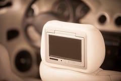 Car dvd player screen Stock Photography