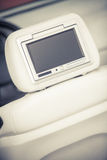 Car dvd player screen Royalty Free Stock Images