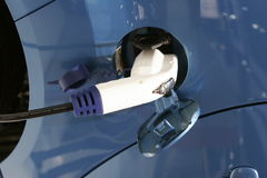 Car electric plug Royalty Free Stock Photography