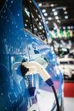 Car electric plug Stock Photos