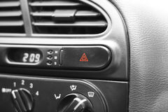 Car emergency button Royalty Free Stock Photo