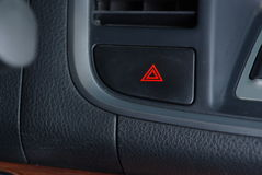 Car emergency button Stock Image