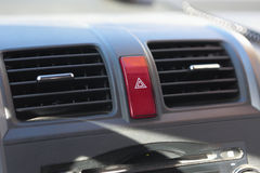 Car emergency button Stock Images