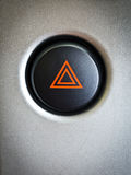 Car emergency button Royalty Free Stock Photography