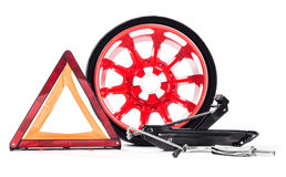 Car emergency kit Royalty Free Stock Photos