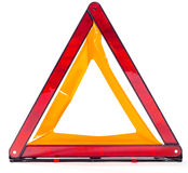 Car emergency sign isolated Stock Image