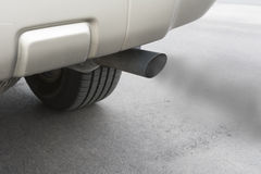 Car emissions exhaust Royalty Free Stock Photos