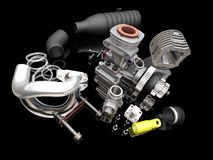 Car engine Stock Photos