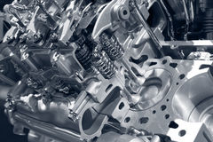 Car engine. stock photos