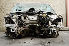 Car without an engine Stock Photography
