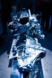 Car Engine. Unleashed Power royalty free stock image