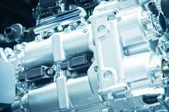The car engine. Engine, Car Engine background Stock Photography