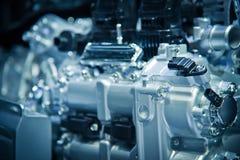 The car engine. Engine, Car Engine background Stock Images