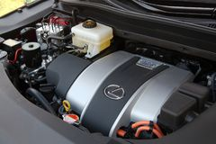 Car Engine Bay Royalty Free Stock Photos
