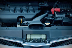 Car Engine Bay Stock Image