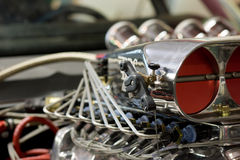 Car engine blower Royalty Free Stock Photography