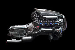 Car engine chrome Stock Images
