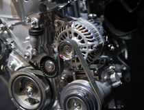 Car Engine Close Up Royalty Free Stock Images