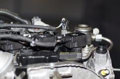 Car engine close-up stock image