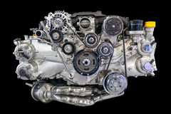 Car engine. Close up shot of car engine Royalty Free Stock Photo