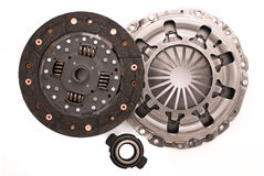 Car engine clutch. Royalty Free Stock Images
