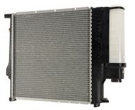 Car Engine Condenser. Hand made clipping path included royalty free stock photo