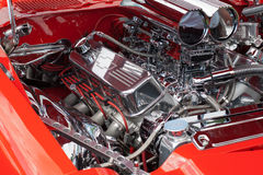 Car engine detail Royalty Free Stock Photos