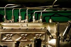 Car engine details. Close-up of car diesel engine details Stock Images