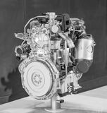 Car engine on display Stock Images