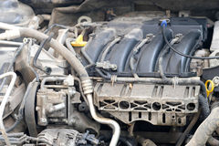 Car engine. Image of Car engine close up Stock Photos