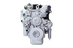 Car engine isolated. Image of a Car engine isolated royalty free stock photo