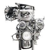 Car Engine Isolated On White Background Royalty Free Stock Images