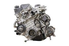 Car engine isolated. Under the white background stock image