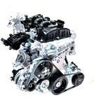 Car engine. Royalty Free Stock Photos