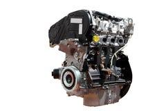 Car engine isolated on white background. Powerful car engine isolated on white background stock photography