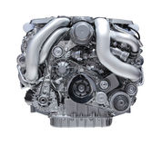 Car engine royalty free illustration