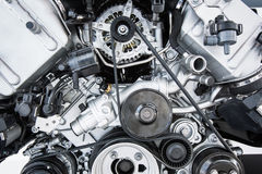 Free Car Engine - Modern Powerful Car Engine Royalty Free Stock Photography - 37627357
