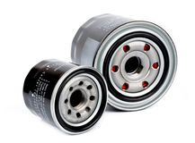 Car engine oil filter Royalty Free Stock Photo